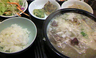 参鶏湯の写真
